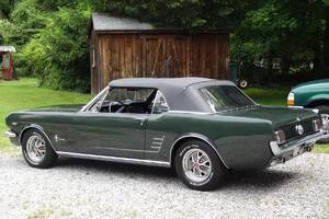 Ford Mustang Manual / TOP STAV / 1966