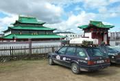 Mongol Rally 2018 část 10. : O velkém Čingischánovi, velkých dinosaurech a velkém finále
