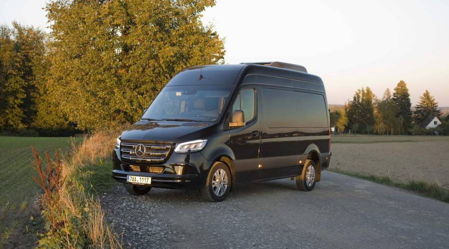 Recenze & testy: Mercedes-Benz Sprinter 319  CDI  Tourer: Sladký život řidiče autobusu