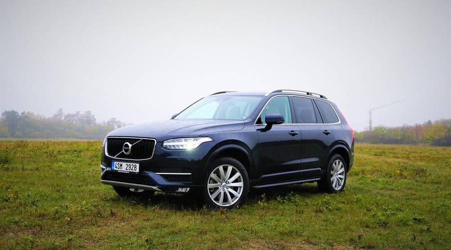 Recenze & testy: Volvo XC90 T5 AWD: Rodina na prvním místě