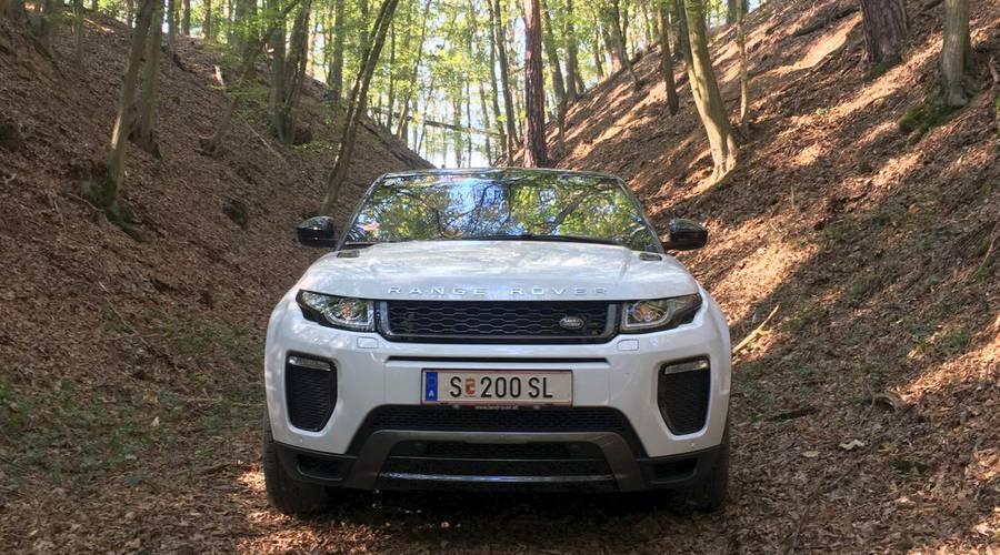 Autíčkář na cestách, Recenze & testy: Range Rover Evoque Cabriolet HSE Dynamic: Prodlužovač léta