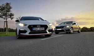 Recenze & testy: Hyundai i30N vs. Škoda Octavia RS: Souboj na ostří nože