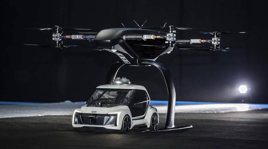 Představujeme: Airbus a Audi konečně představili létající auto! Nebo ne?
