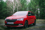 Škoda Fabia Monte Carlo 1.0 TSI 81kW DSG: Kombi se loučí se ctí