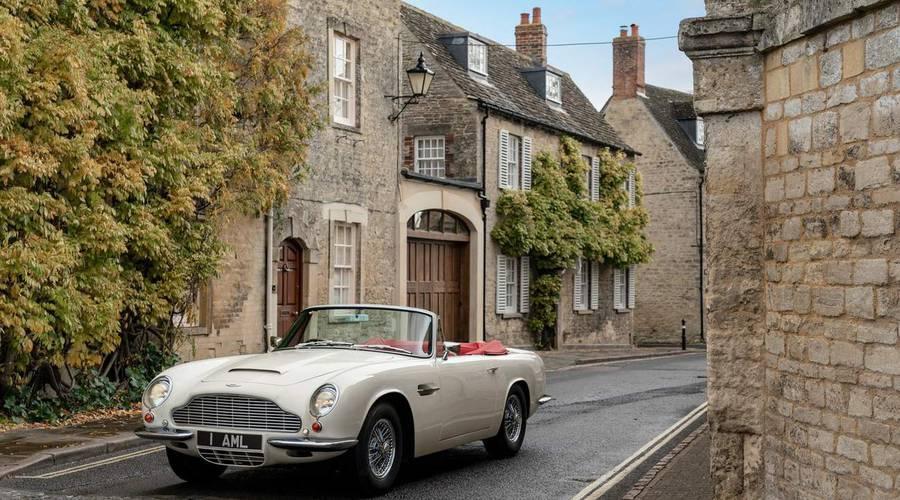 Novinky: Aston Martin nabídne možnost přestavby klasických modelů na elektromobil