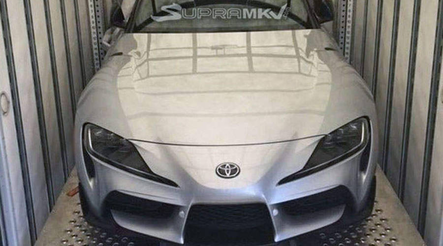 Novinky: Sériová Toyota Supra vyfocena bez maskování - líbí se vám?