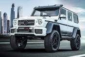 Zdá se vám Mercedes třídy G tuctový? Potřebujete Brabus G700.