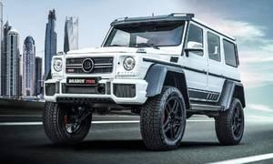 Novinky: Zdá se vám Mercedes třídy G tuctový? Potřebujete Brabus G700.