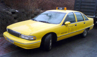 Chevrolet Caprice Model 1992, verze LTZ 1992