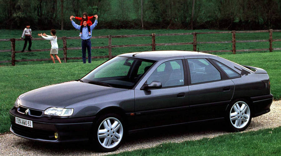 Historie: Renault Safrane Biturbo: Zapomenutý supersedan