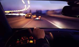 Kam se díváte při řízení?
