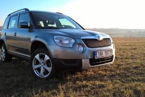 Škoda Yeti 4x4, 1.8 TSI, 118 kW 2009