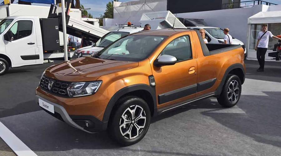 Novinky: Přichází Dacia Duster Pick-up. A tentokrát i pro evropský trh.