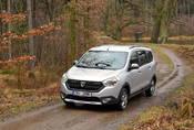 Dacia Lodgy Stepway 1.6 sCe: Hrníček od peří