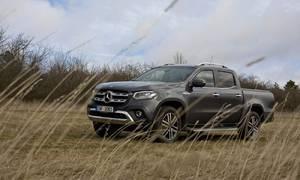 Recenze & testy: Mercedes-Benz X 350d: Trefa na druhý pokus