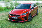 Kia Ceed GT: Nymburkring material
