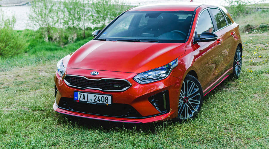 : Kia Ceed GT: Nymburkring material