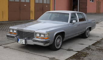 Cadillac Fleetwood Brougham 1981