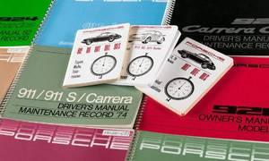 Novinky: Porsche vydává původní manuály k historickým modelům. Překupníci zuří.