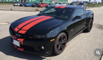 Chevrolet Camaro SS manual 2011