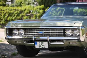 Chevrolet Caprice 2-door coupe 1969