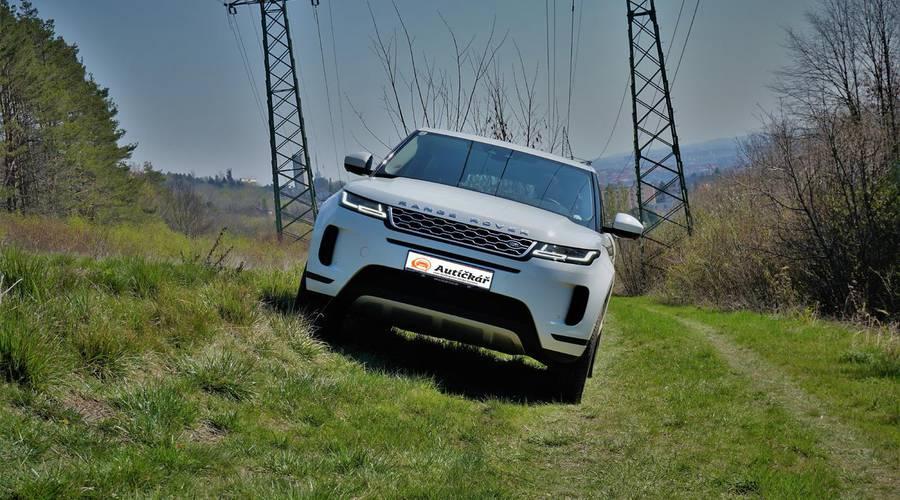 Představujeme: První kilometry za volantem nového Range Roveru Evoque