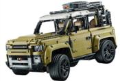 Podobu Land Roveru Defender pro rok 2020 prozradilo Lego