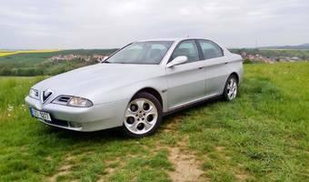 Alfa Romeo 166 3.0 V6 Super, manuál 1999
