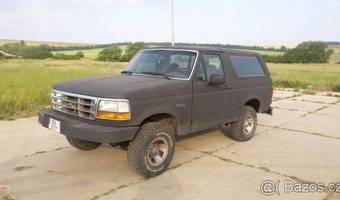 Ford Bronco XLT 5.8 V8, LPG 1992