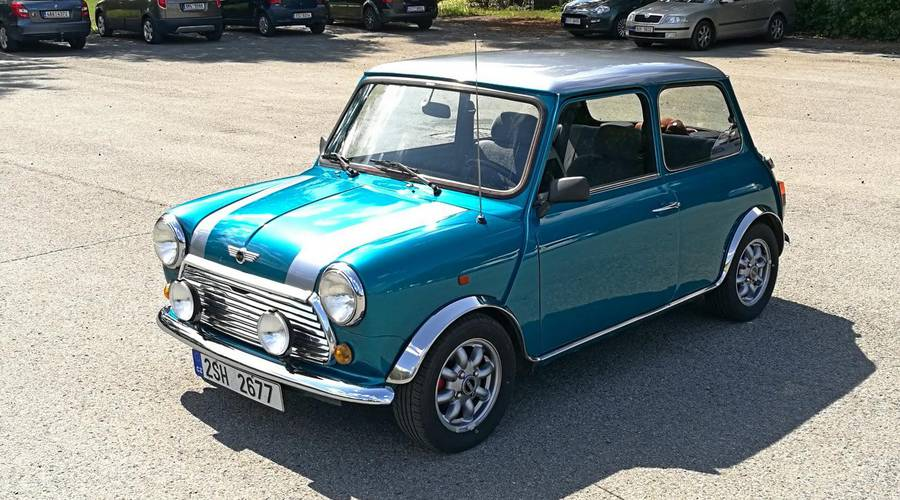 Historie: Za volantem: Mini 1.3 Mark VI