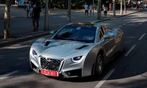Novinky: Nové Hispano Suiza se testuje v Barceloně. Vypadá...zvláštně.