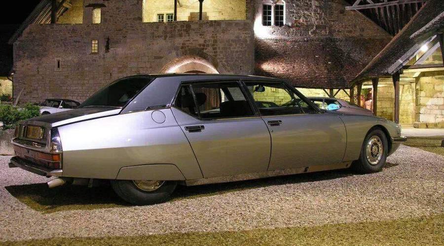 Historie: Citroën SM Opéra: Nedokončený příběh