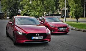 Recenze & testy: Mazda3 G122 Plus vs. Mazda3 G165 Revolution: Sourozenecký souboj o krále třídy