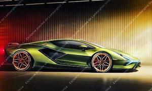 Novinky: Nástupce Aventadoru odhalen, Sian přijede s hybridním dvanáctiválcem.