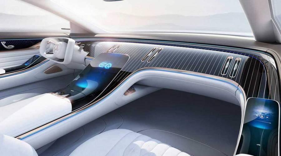 Novinky: Mercedes odhalil interiér nového konceptu. Akcie výrobců útěrek z mikrovlákna letí vzhůru.