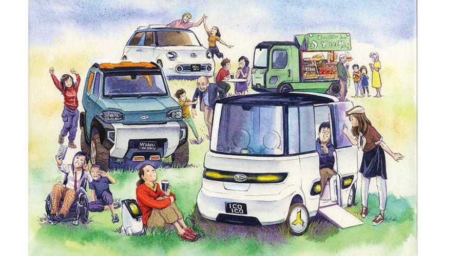 Novinky: Daihatsu veze do Tokia koncepty s repetitivními názvy a spoustou stylu
