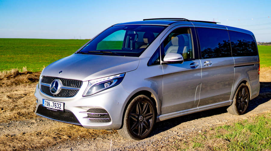 Recenze & testy: Mercedes-Benz V300d L Avantgarde 4MATIC: Business jet na kolech