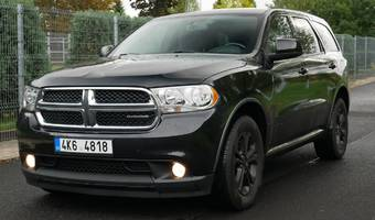 Dodge Durango 3.6i PENTASTAR SXT Black 2012 2012