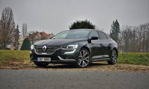 Recenze & testy: Renault Talisman Blue dCi 200 Initiale Paris: Ohrožený druh