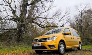 Recenze & testy: Volkswagen Caddy + Egoé NEST: Nejuniverzálnější automobil