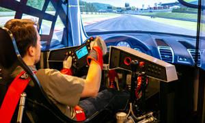 Virtuální volant: Simulátor My Race: je to celé jinak, než jsem myslel
