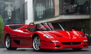 Historie: Ferrari F50: Mytický supersport