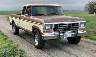 Ford F250 Ranger Super Cab Long Bed  1979