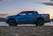 Ford Ranger Raptor: Ještěrka na štěrk