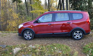 Recenze & testy: Dacia Lodgy Blue dCi 115: Volání temné strany