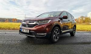 Recenze & testy: Honda CR-V 2,0 i-MMD Hybrid AWD: Velmi milé překvapení