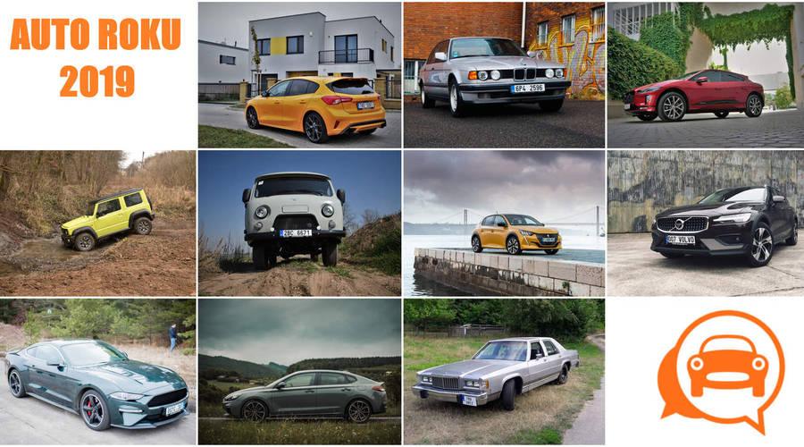 TopX: Auto roku 2019 podle redaktorů Autíčkáře