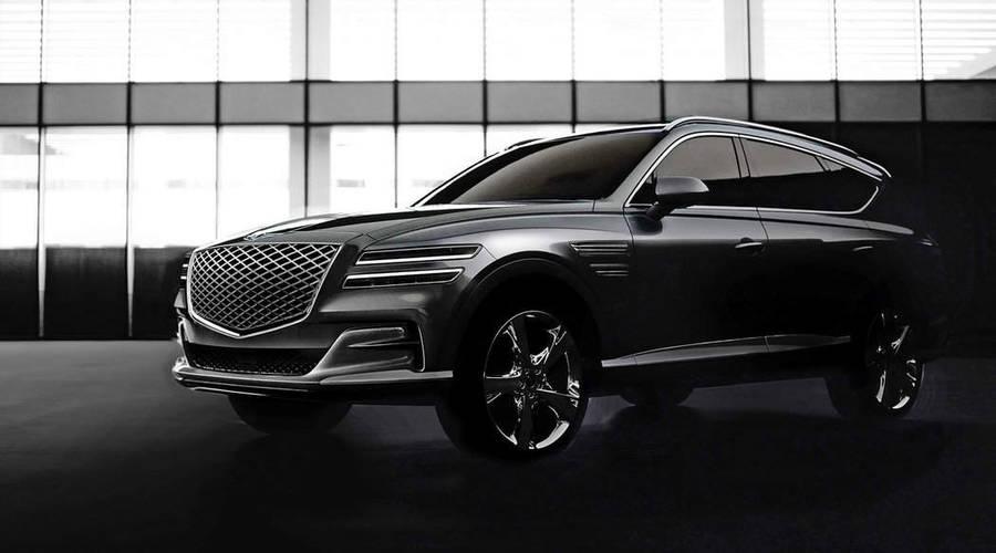 Novinky: Genesis představuje nové velké SUV. Chce přetáhnout zákazníky BMW a Audi.