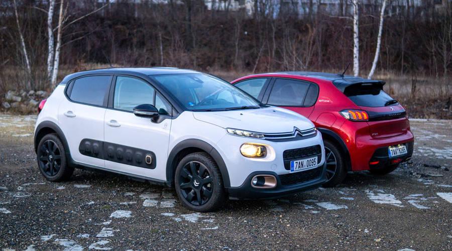 Recenze & testy: Citroën C3 vs. Peugeot 208: Tak si to srovnáme...