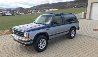 Chevrolet Blazer S-10 Blazer 4.3 L V6, nová STK 1989